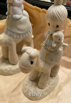Precious Moments Nativity They Followed the Star LARGE Camels Three Kings E-5624