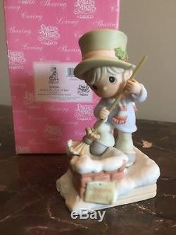 Precious Moments RARE! READY IN THE NICK OF TIME, 804088 Chapel Ex LE
