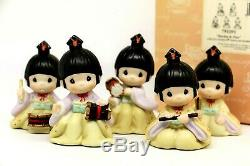 Precious Moments RHYTHM AND FLUTE 791091 LE CCR Japanese Exclusive / Set Of 5