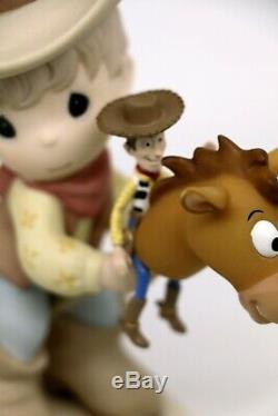 Precious Moments ROUNDING UP A GANG FULL OF FUN 920003 Disney Bullseye Woody