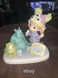 Precious Moments-Rare Pre-Production SAMPLE-Disney-Monsters Inc-Sully And Mike