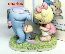 Precious Moments SOME DAYS HAVE THEIR UPS AND DOWNS 142000 Disney EEYORE RARE