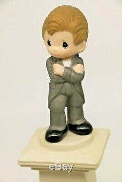 Precious Moments Singapore Thots Exclusive SIR STAMFORD RAFFLES Over 9 inch