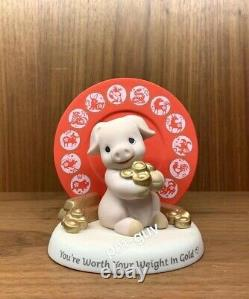Precious Moments Singapore Thoughts Zodiac Series 2019 Piggy Limited Edition