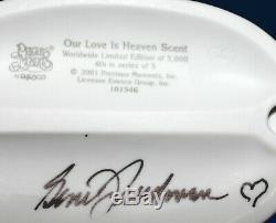 Precious Moments Smiles Forever 5 Clown Set all autographed