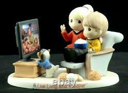 Precious Moments Star Trek Live Long and Prosper Porcelain Figurine # A0015 EUC