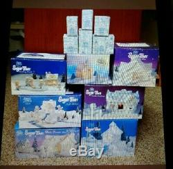 Precious Moments Sugar Town Complete Set With Over 70 Pieces