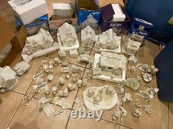 Precious Moments Sugar Town Complete set Over 70 Pieces All in Boxes