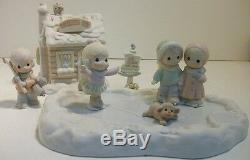 $ Precious Moments Sugar Town Seven Complete Sets Collectable Christmas