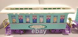 Precious Moments Suger Town Express Christmas Holiday Train Set withExtras