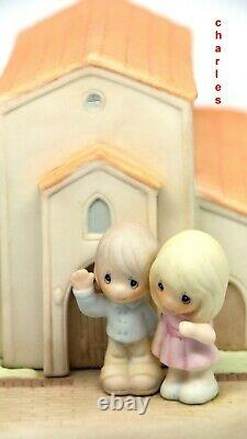 Precious Moments THERE'S A BLESSING HERE 159013 Chapel Exclusive Signed By Hiko