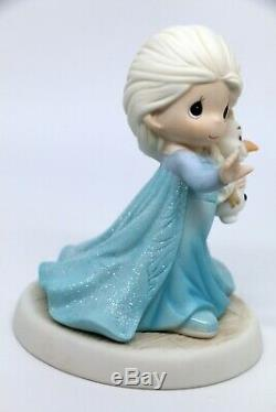Precious Moments THERE'S SNOW ONE LIKE YOU 193053 Disney Elsa Snow Queen FROZEN