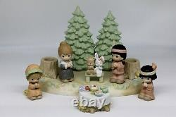 Precious Moments THE PEACE THAT PASSES UNDERSTANDING 730173 Set Of 7 / Ltd Ed