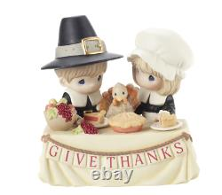 Precious Moments Thanksgiving Give Thanks Limited Edition New 2020 201034