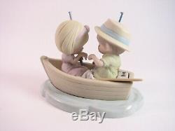 Precious Moments The Perfect Catch 990009 Rare Large Piece