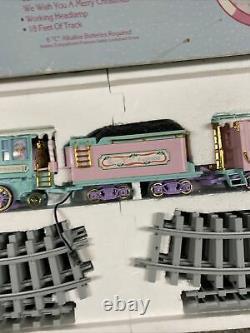 Precious Moments The Sugar Town Express Holiday Train Set With Tag And Box