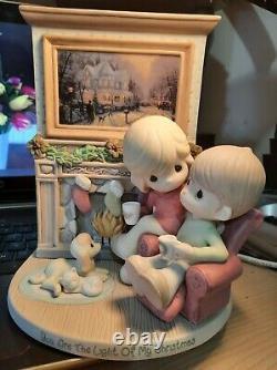 Precious Moments Thomas Kincaide RARE Collectible Figurine