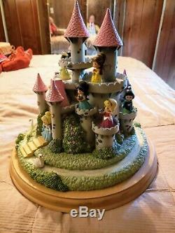 Precious Moments Ultimate Disney Princess Castle