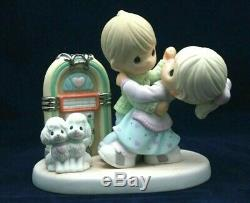 Precious Moments Very Rare Limited Edition 3000 Rock Around The Clock With Box