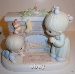 Precious Moments- Very Rare -limited Edtion- Waiting For A Merry Christmas Prod
