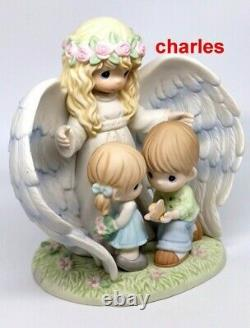 Precious Moments WHEREVER YOU GO, WHATEVER YOU DO, MAY YOUR GUARDIAN ANGEL WATCH