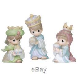 Precious Moments We Three Kings 159021 Nativity Addition Mini King Set Enesco