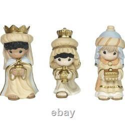 Precious Moments We Three Kings, 3-Piece Nativity Set 181052