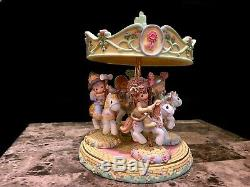 Precious Moments Wizard Of Oz Carousel 2004 COMPLETE SET EXTREMELY RARE