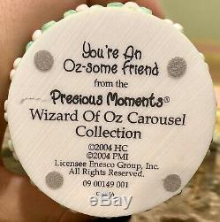 Precious Moments Wizard Of Oz Carousel 2004 Complete Collection EXTREMELY RARE