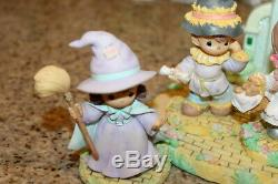 Precious Moments Wizard Of Oz set of 7