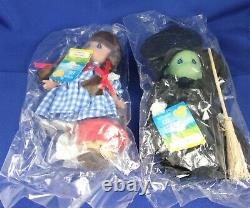 Precious Moments Wizard of Oz Dolls Set of Five Brand New