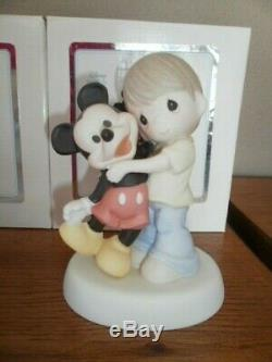Precious Moments YOU ARE A CLASSIC109007 & 109008 MICKEY & MINNIE MOUSE DISNEY