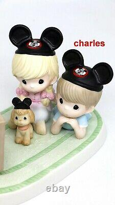 Precious Moments Y BECAUSE WE LIKE YOU 111020 Disney Mickey N Minnie Mouse