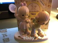 Precious Moments Yes Dear, You're Always Right 523186E Signed MIB