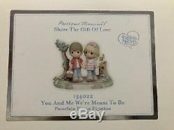 Precious Moments You And Me Were Meant To Be 134022 Limited Edition Couple NIB