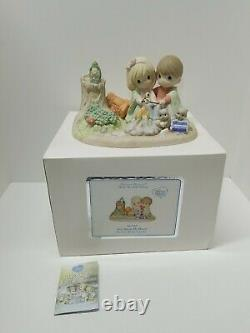 Precious Moments You Warm My Heart 141047 Limited Edition Camping Figurine