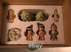 Precious Moments'the Peace That Passes Understanding'730173 Set Of 7 Le