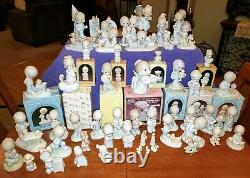 Price Reduced Again Precious Moments Figurines Lot Of 53
