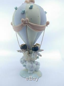 RARE 1999 Precious Moments Members Only Figurine He Watches Over Us All MIB
