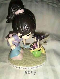 RARE FIND! Disney Black Hair Precious Moments with Vidia Pixie from Tinkerbell