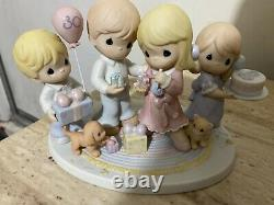 Rare Limited Ed. Precious Moments 30 Years of Loving Caring and Sharing Party