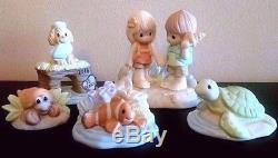 Rare Precious Moments Bahama Cruise Exclusive We Shell Always Be Together Set