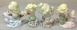 Sea of Friendship 4 Mermaid Series Precious Moments 108546 108547 108548 115654