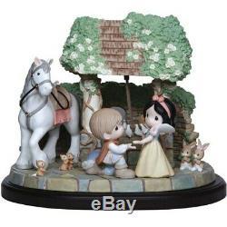 Snow White You Are My Wish Come True Precious Moments NIB Disney LE
