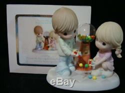 T Precious Moments-Couple/Gumball Machine-I Count My Blessings Everyday With You