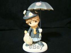 T Precious Moments-Disney's Mary Poppins-Practically Perfect-Extremely Rare
