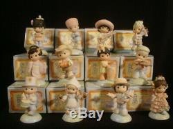 T Precious Moments-RARE International Series-Complete Set Of 12-WITH BOXES