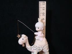 T Precious Moments-Reg/Lrg Nativity-Three Kings On Camels-RARE NO MARKS-$875V