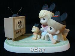T Precious Moments VERY RARE Disney Mickey Mouse Club-Y Because We Like You