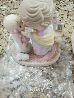 The Hamilton Collection Precious Moments Figurine in My Granddaughter's Eyes